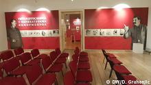 Serbien Karikatur-Ausstellung Vojvodina-Museum Novi Sad | Tito und Stalin