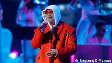 14.11.2019 *** The 20th Annual Latin Grammy Awards - Show - Las Vegas, Nevada, U.S., November 14, 2019 - Bad Bunny performs. REUTERS/Steve Marcus