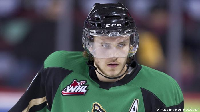 Leon Draisaitl with the Prince Albert Raiders (Imago Images/L. MacDougal)