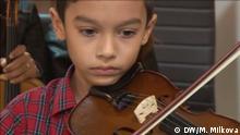 Kind aus der Musikschule von Georgi Kalajdziev