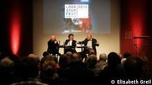 Deutschland Literaturfest München 2019   Frank Witzel, Ingo Schulze und Dzevad Karahasan