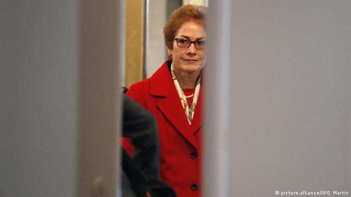 سفيرة أمريكا السابقة لدى أوكرانيا ماري يوفانوفيتش
