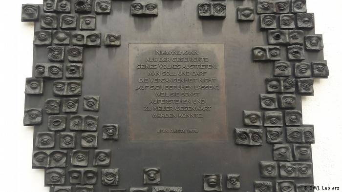 Monument to victims of Josef Mengele in Günzburg (DW/J. Lepiarz)
