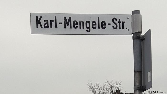 Karl-Mengele-Straße in Günzburg