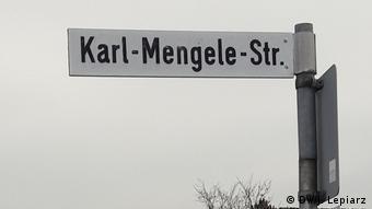 Strada Karl Mengele din Günzburg