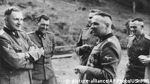 SS Offiziere 1944 in der Unterkunft Solahütte