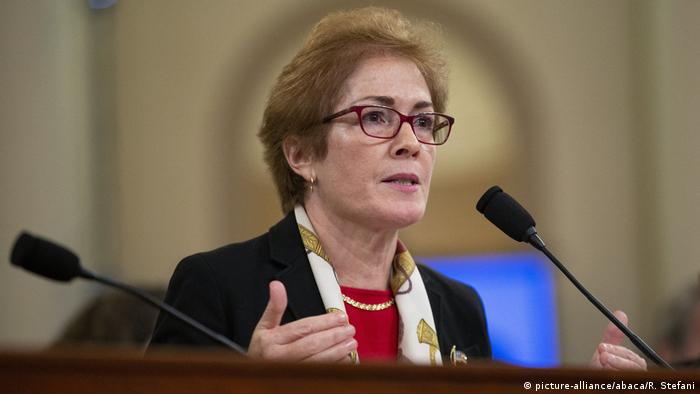 USA Anhörung Marie Yovanovitch ehemalige Botschafterin in der Ukraine