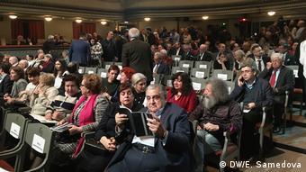 Зрители во время вручения премии имени Егора Гайдара
