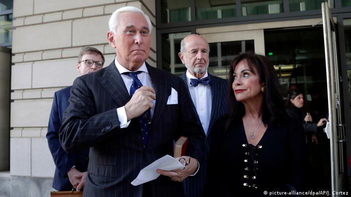 Roger Stone and his wife Nydia Stone