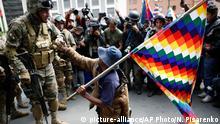 Bolivien Protest