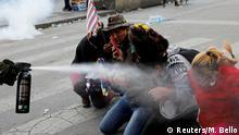 Zusammenstöße zwischen Anhängern des ehemaligen bolivianischen Präsidenten Evo Morales und den Sicherheitskräften in La Paz