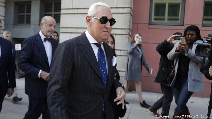USA Washington |  Process Roger Stone (picture-alliance / AP Photo / C. Cortez)