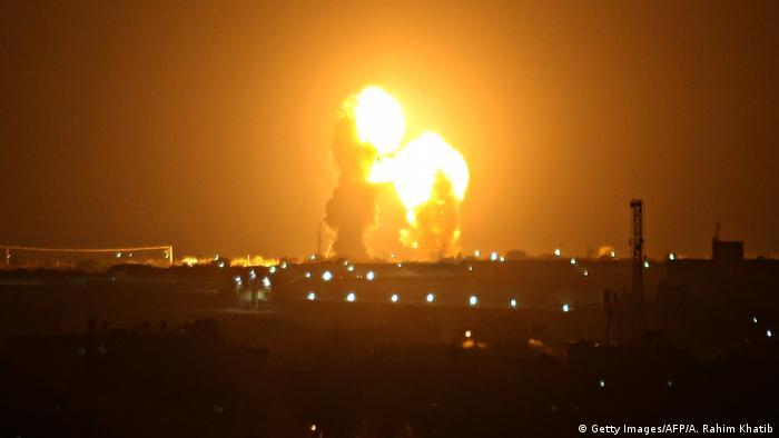 Gazastreifen Khan Yunis | Israelischer Luftangriff