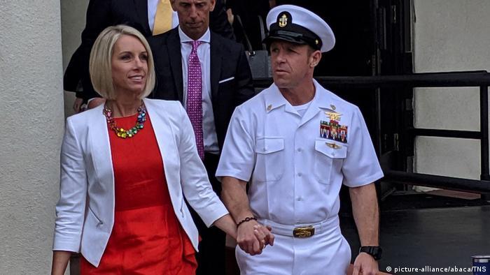 USA Begnadigung von Militärs durch Donald Trump | Edward Gallagher & Ehefrau