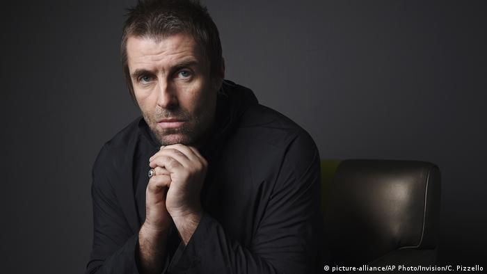 Porträt von Liam Gallagher im Rahmen der Promotion des Albums Why Me? Why not.