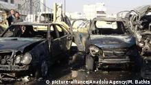 Syrien Autobombe in al-Bab