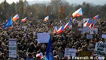 Tschechien | Anti-Regierungsproteste in Prag