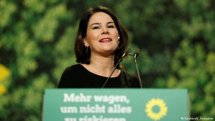 Deutschland Bundesparteitag der Grünen l Annalena Baerbock (Reuters/L. Kuegeler)