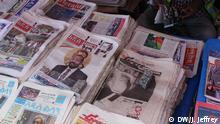 Äthiopische Zeitungen