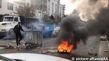 Iran | Proteste gegen Benzinpreiserhöhung