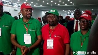 Angola UNITA 2019 Kongress Isaías Samakuva