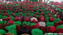 Titel: UNITA 2019 Kongress, Angola Wann wurde das Bild gemacht?: 16.11.2019 Wo wurde das Bild aufgenommen?: Luanda, Angola Wer hat das Bild gemacht/Fotograf?:Ndomba, Borralho Bildbeschreibung: Wahlen UNITA 2019