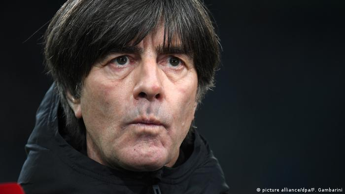 German national team coach Joachim Löw during qualification for EURO 2020 (picture alliance/dpa/F. Gambarini)