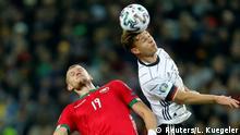 Fussball UEFA EM 2020 Qualifikation l Deutschland vs Weißrussland - Joshua Kimmich