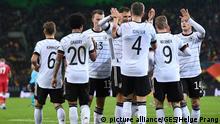 Fussball UEFA EM 2020 Qualifikation l Deutschland vs Weißrussland l Tor 1:0