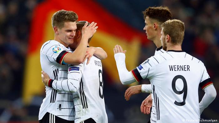 Germany book place at Euro 2020 after Belarus rout | Sports| German football and major international sports news | DW | 16.11.2019