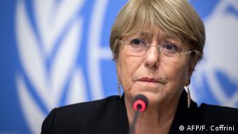 Schweiz Bachelet kritisiert Vorgehen von Polizei und Armee in Bolivien