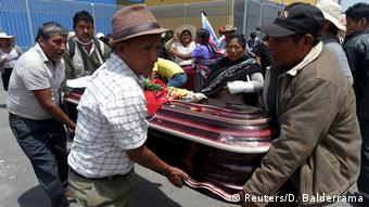 Bolivien Mehr Tote bei Zusammenstößen mit Sicherheitskräften