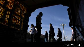 China Uiguren in der Provinz Xinjiang (AFP/G. Baker)