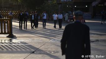 China Uiguren in der Provinz Xinjiang