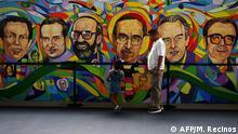 El Salvador Gedenken der vor 30 Jahren ermordeten Jesuiten