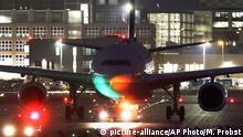 Deutschland Frankfurt am Main Flughafen | Flugzeug der Lufthansa