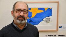 Deutschland l Ausstellung Made in Europe - Karikaturist Michalis Kountouris