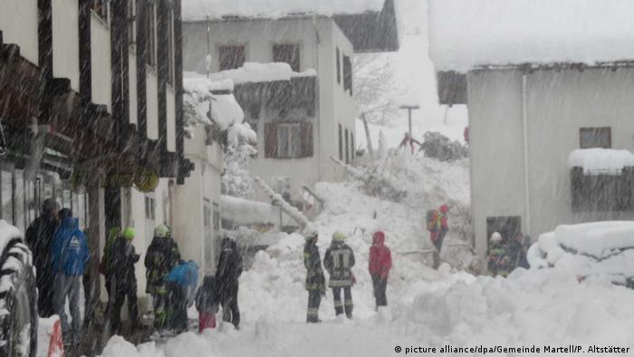 Снігопад у Південному Тіролі
