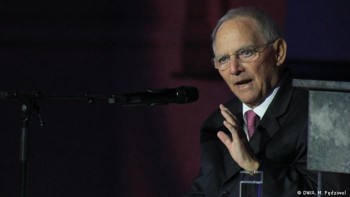 Federal Meclis Başkanı Wolfgang Schäuble