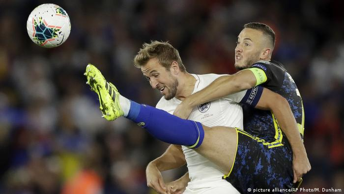 Kosovo played England in qualifying