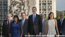 Kuba l Zeremonie für den kubanischen Unabhängigkeitshelden mit den Spanischen Royals
