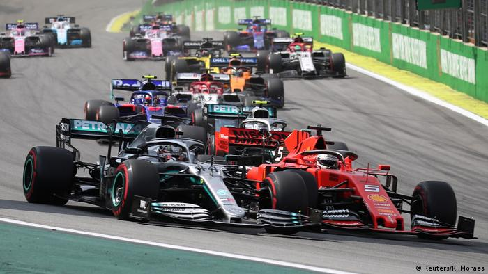 Formel 1 - Großer Preis von Brasilien   Start