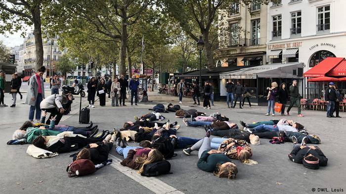 Akcija francuske organizacije #Noustoutes u Parizu