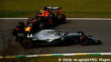 Formel 1 - Großer Preis von Brasilien | Unfall Lewis Hamilton und Alexander Albon