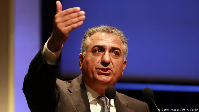 Iran Prinz Reza Pahlavi (Getty Images/AFP/P. Verdy)