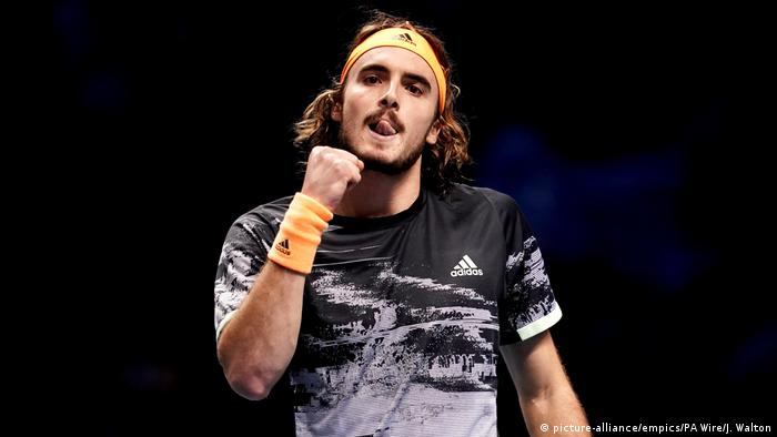 Nitto ATP Finals - Day Eight - The O2 Arena | Stefanos Tsitsipas (picture-alliance/empics/PA Wire/J. Walton)