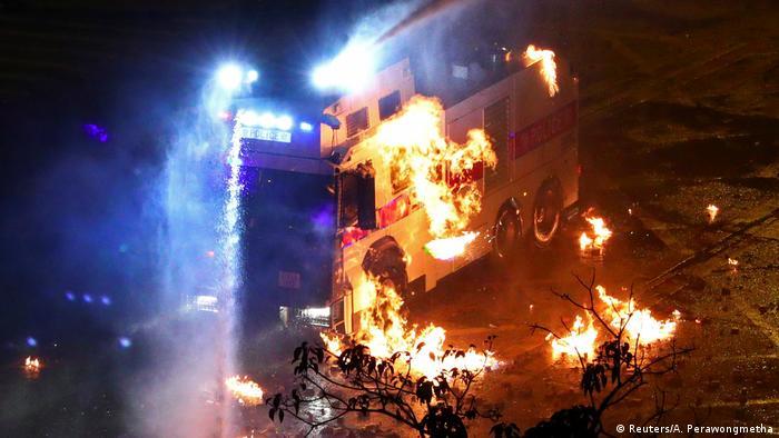China HongKong - Anti-Regierungsproteste - Ausschreitungen