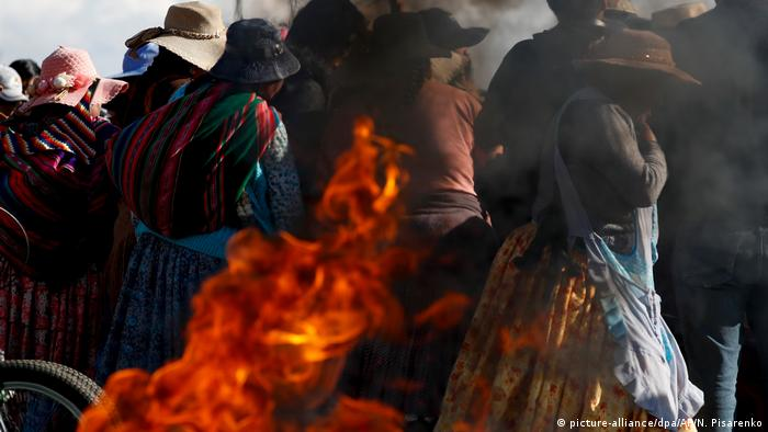 Lage in Bolivien | Protest