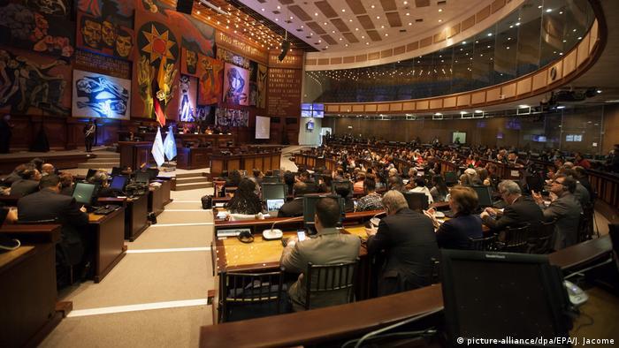 Foto de la Asamblea Nacional de Ecuador