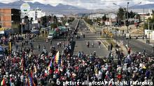 Bolivien Protest (picture-alliance/AP Photo/N. Pisarenko)